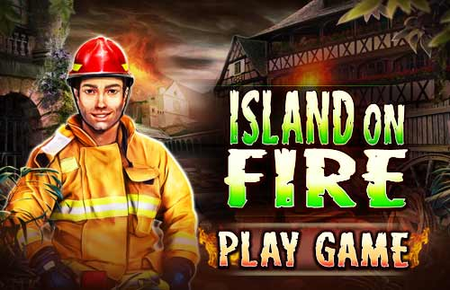 Image Island on Fire
